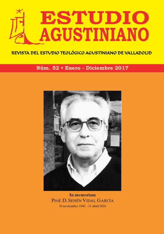 Estudio Agustiniano. Revista del Estudio Teológico Agustiniano de Valladolid